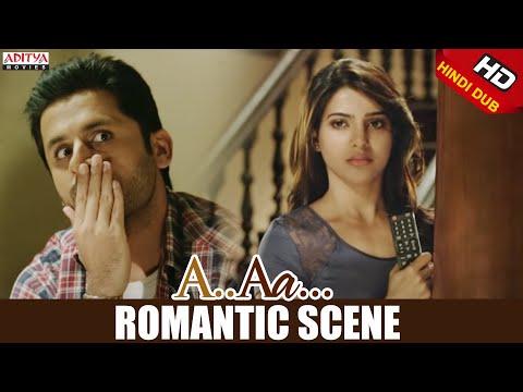A Aa Scenes    Nithiin Samantha Romantic Scene   Nithiin, Samantha   A Aa (Hindi Dubbed Movie)