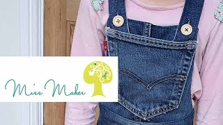 Dungarees - Up-cycle Old Jeans Into Cute Kids Dungarees