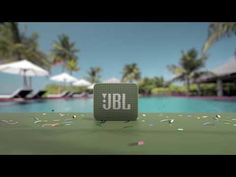 JBL GO 2 vodoodporen prenosljiv bluetooth zvočnik, črn