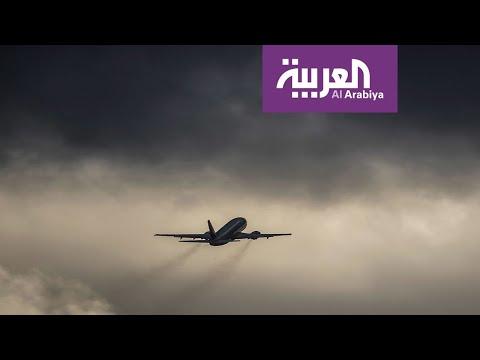 العرب اليوم - شاهد: طائرة تتأرجح في الهواء في مشهد أقرب إلى الأفلام