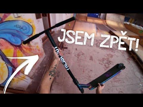 JSEM ZPĚT! | Freestyle Scootering #12