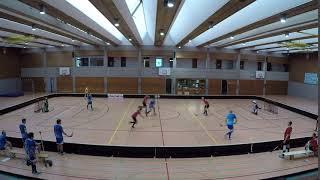 Tor 1:7 Michal Hronsky FBC Heidelberg vs Floorball Mannheim