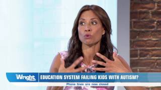 Melanie Sykes talks autism education with The National Autistic Society wrightstuff
