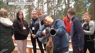 Росгвардия и ОМОН посетили детские лагеря «Парус» и «Гверстянец»