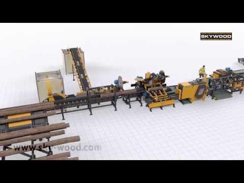Sägewerk Skywood Linie für Palettenbretter - foto 6
