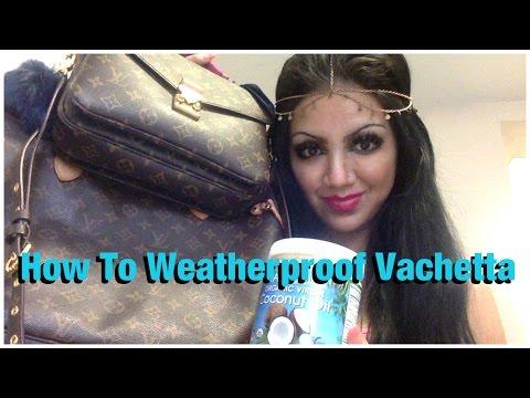Video How To WEATHERPROOF Vachetta   idylle♡doll