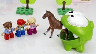 Ам Ням и побег лошадки из зоопарка. Мультики для детей.