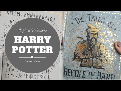 HARRY POTTER REPLICA UNBOXING | Tales of Beedle the Bard