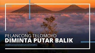Wisata Puncak Gunung Telomoyo Ditutup Portal, Pelancong Diminta Putar Balik