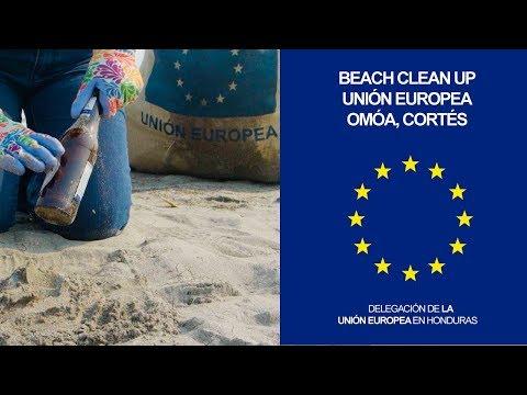 Beach Clean Up Unión Europea - Omoa Cortés / Completo (Duración 3 Min)