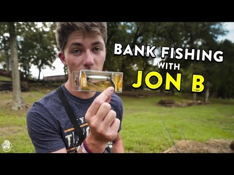 Bank Fishing Tips with Jon B!