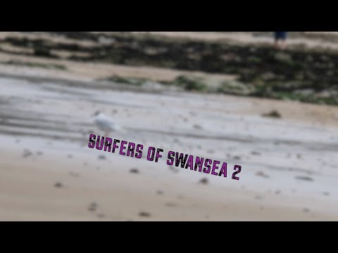 Small fun waves at Swansea