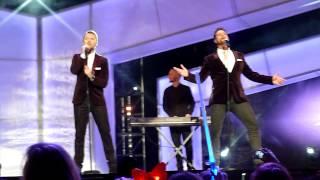Boyzone - 'Too Late For Hallelujah' - Cheerios Childline Concert 30/11/14