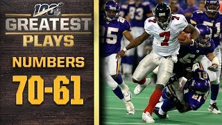 100 Greatest Plays: Numbers 70-61 | NFL 100