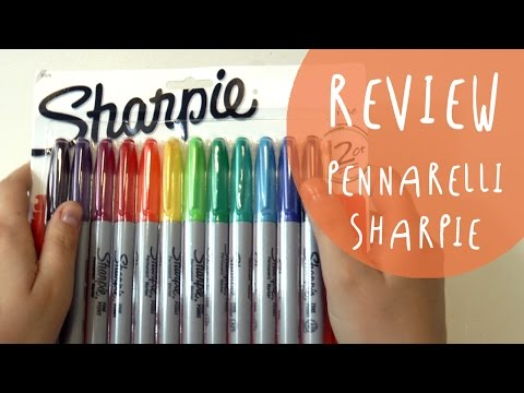 PENNARELLI SHARPIE - RECENSIONE e PROVA su strada by ART Tv (ITA)
