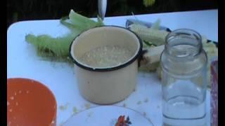 Как приготовить кукурузный ликер для рыбалки