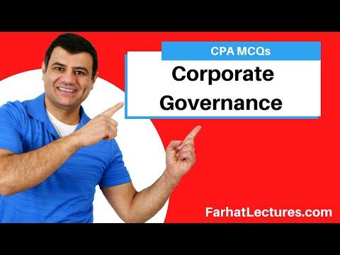 Corporate Governance. CPA Exam BEC - YouTube