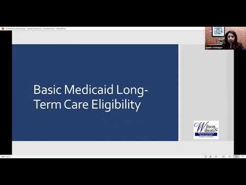 Sandra Schildgen - Medicaid Trusts Webinar