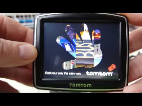 TomTom One (US-South Atlantic+Europe Central,Australia (USA)Fahrradhalterung