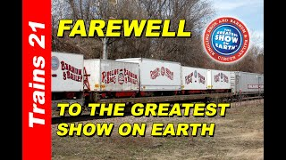 [T-94] THE LAST GREAT CIRCUS TRAIN ADVENTURE: The End Of The Ringling Bros. Circus