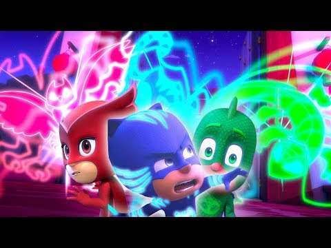 PJ Masks Episodes | CLIPS | Season 2 🌟 PJ Power Up/Mystery Mountain 🌟Superhero Cartoons for Kids