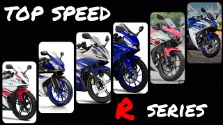 R125 R15 R25 R3 : Exhaust & Top Speed