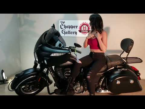 2017 Indian Chieftain Dark Horse® in Temecula, California - Video 1