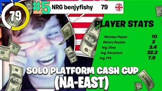 5th In The NA SOLO CASH CUP!? Winning $1,100 On 100 Ping!