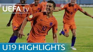 2017 U19 Highlights: Germany 1-4 Netherlands