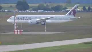 preview picture of video 'Qatar Airways B787-800 Dreamliner A7-BCI 1 @ ZRH'