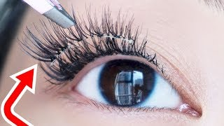 Dont Wear False Lashes Again Until You Try This TRICK!
