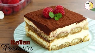 তিরামিসু - ইতালিয়ান ডেজার্ট   Tiramisu Recipe   How To Make Tiramisu   Italian Dessert Recipe