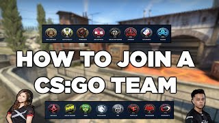 How To Find A Team In CS:GO!!