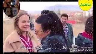 سامحيني إنهيار سحر وفريدة بالبكاء و أبطال المسلسل مترجم