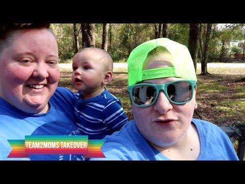 Lesbian Two Mom Family | DITL w/ Kellie and Corey