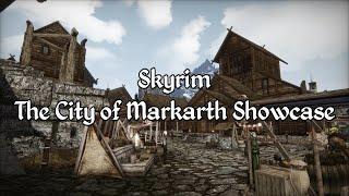 Skyrim - The City of Markarth Showcase - A Morrowind Mod