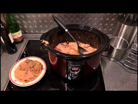 Slow cooker - Schongarer - Crockpot - Andrew James - 5 Liter Digital Premium