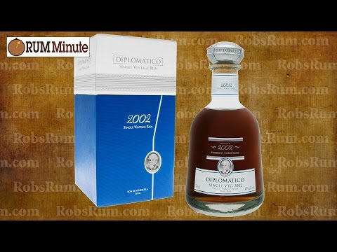 Diplomatico 2002 Single Vintage aged rum