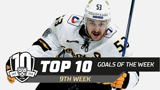 17/18 KHL Top 10 Goals for Week 9