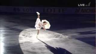 浅田真央NHK杯EXメリーポピンズメドレー