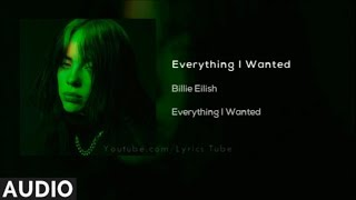Billie Eilish   Everything I Wanted (Audio)