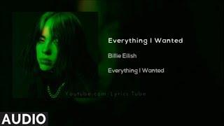 Billie Eilish   Everything I Wanted (Audio)