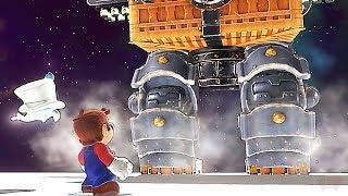 Super Mario Odyssey Rabbit Ridge Tower All Broodals Bosses Challenge
