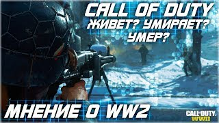 CALL OF DUTY WW2 | CALL OF DUTY МЕРТВА? РЕВОЛЮЦИИ НЕ БУДЕТ? [МНЕНИЕ]