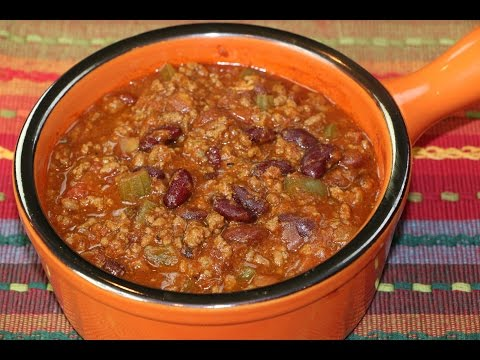 Chili Recipe – How to Make Homemade Chili