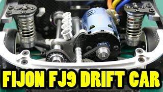 FIJON FJ9 DRIFT CAR (AKA D9 Bulldog) - Carbon Fiber & Alloy Masterpiece Part 4 Electronics Installed