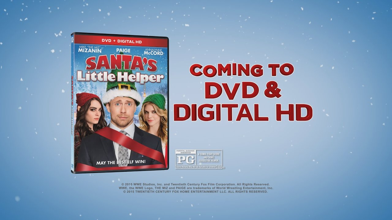 "Video trailer för ""Santa's Little Helper"" arrives on DVD and Digital HD Nov. 17"