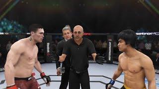 Darren Till vs. Bruce Lee (EA Sports UFC 3) - CPU vs. CPU