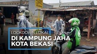 Melihat Isolasi Wilayah Kampung Jaha Jatiasih Bekasi, Satu Jalan dengan Penjagaan Ketat