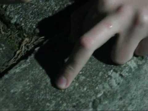 Masaż stóp kamienia
